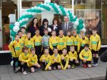 Twyford Spartans Under 8s 2011-2012 Team and Sponsor
